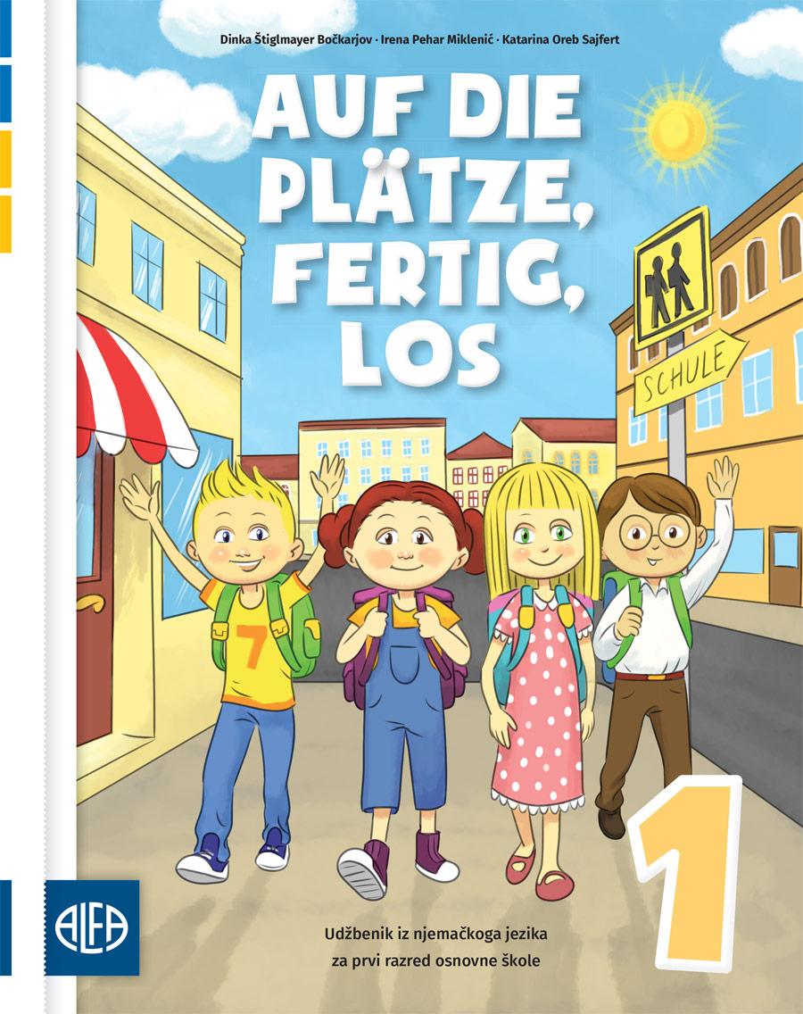 Udžbenik iz njemačkoga jezika za prvi razred osnovne škole