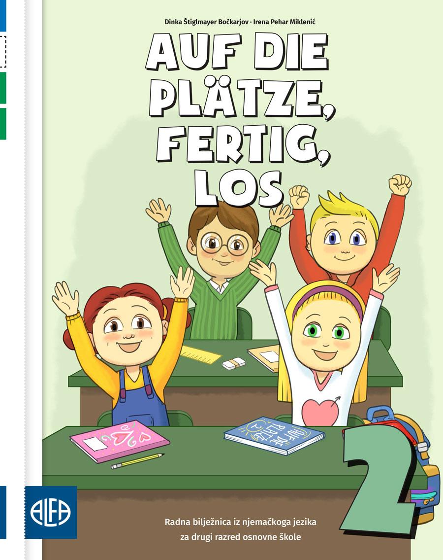 Radna bilježnica iz njemačkog jezika za drugi razred osnovne škole
