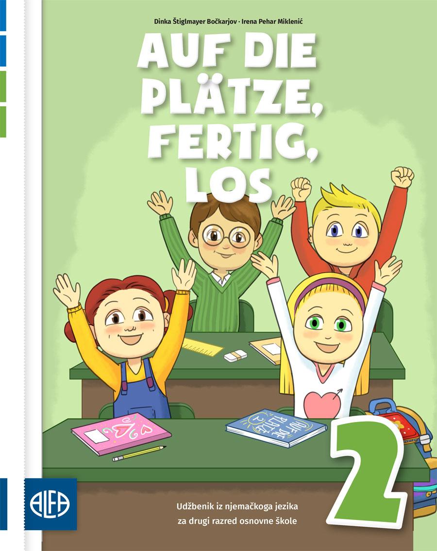 Udžbenik iz njemačkoga jezika za drugi razred osnovne škole