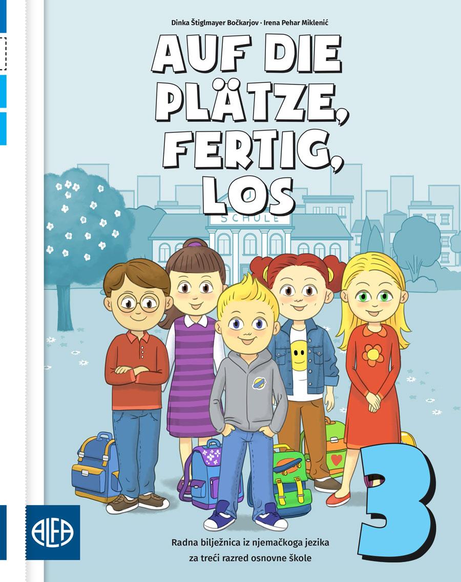 Radna bilježnica iz njemačkog jezika za treći razred osnovne škole