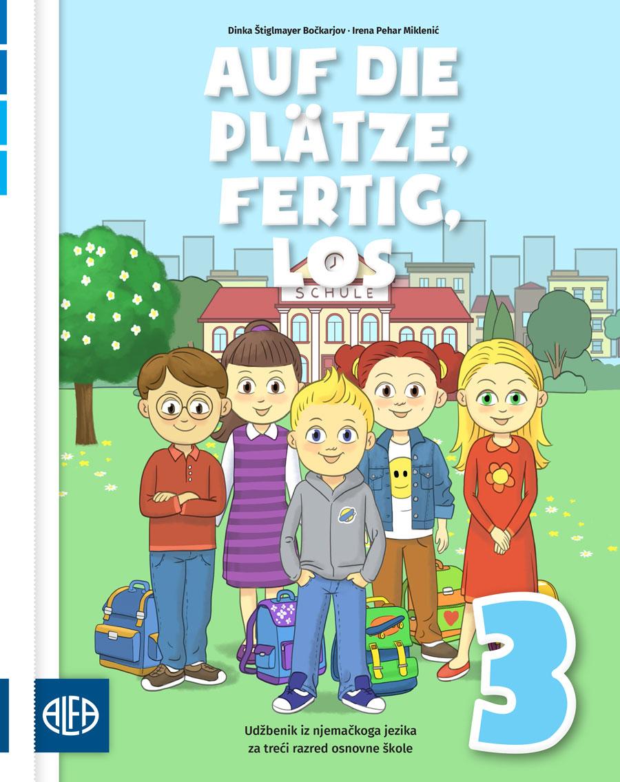 Udžbenik iz njemačkoga jezika za treći razred osnovne škole