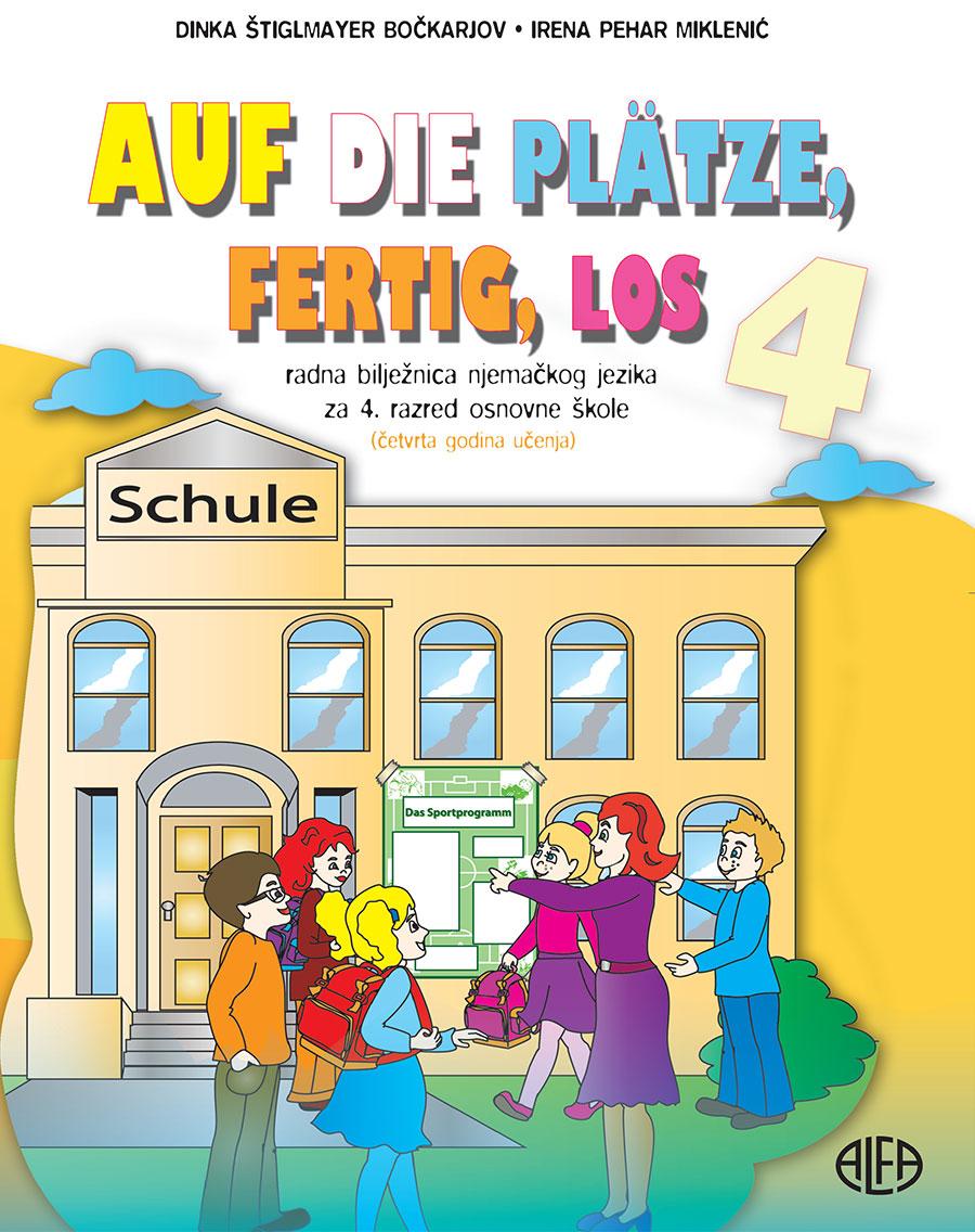 Radna bilježnica iz njemačkog jezika za četvrti razred osnovne škole