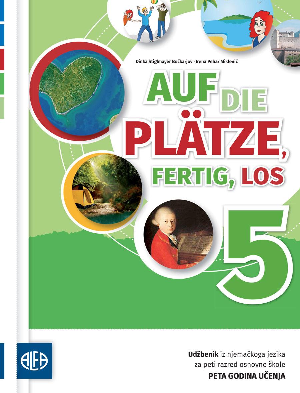 Udžbenik iz njemačkoga jezika za peti razred osnovne škole