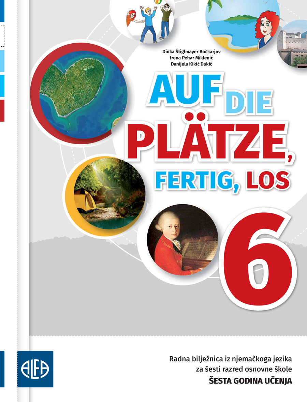 Radna bilježnica iz njemačkog jezika za šesti razred osnovne škole