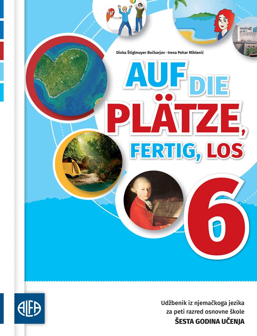 Udžbenik iz njemačkoga jezika za šesti razred osnovne škole