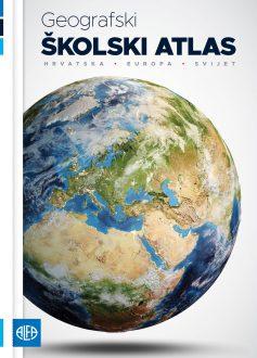 Geografski školski atlas od petog do osmog razred osnovne škole
