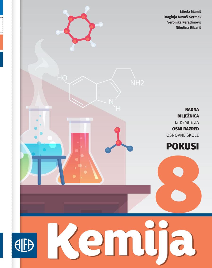 Radna bilježnica iz kemije za osmi razred osnovne škole