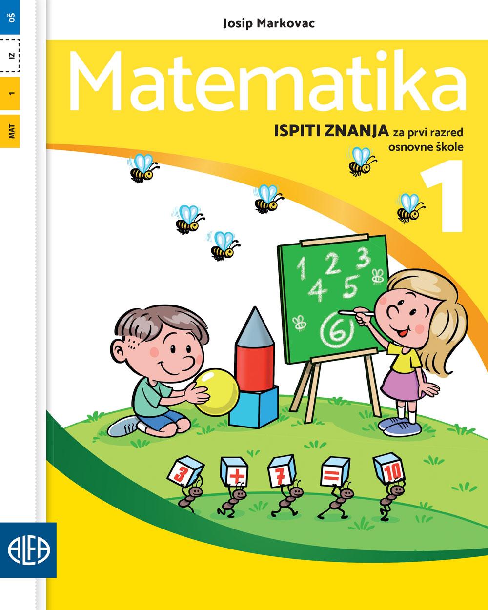 Ispiti znanja iz matematike za prvi razred osnovne škole