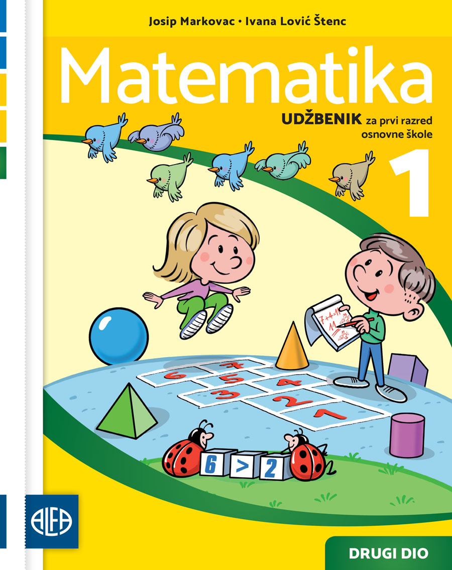 Radni udžbenik iz matematike za prvi razred osnovne škole
