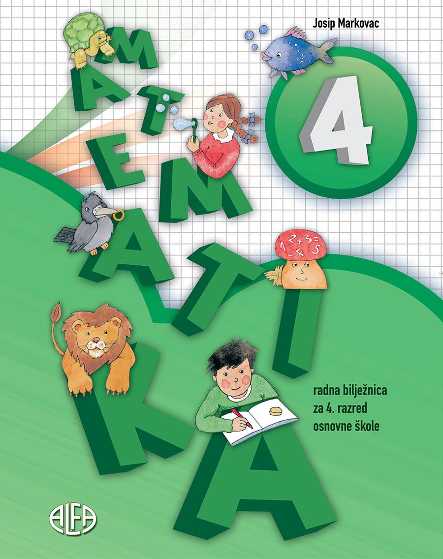 Radna bilježnica iz matematike za četvrti razred osnovne škole