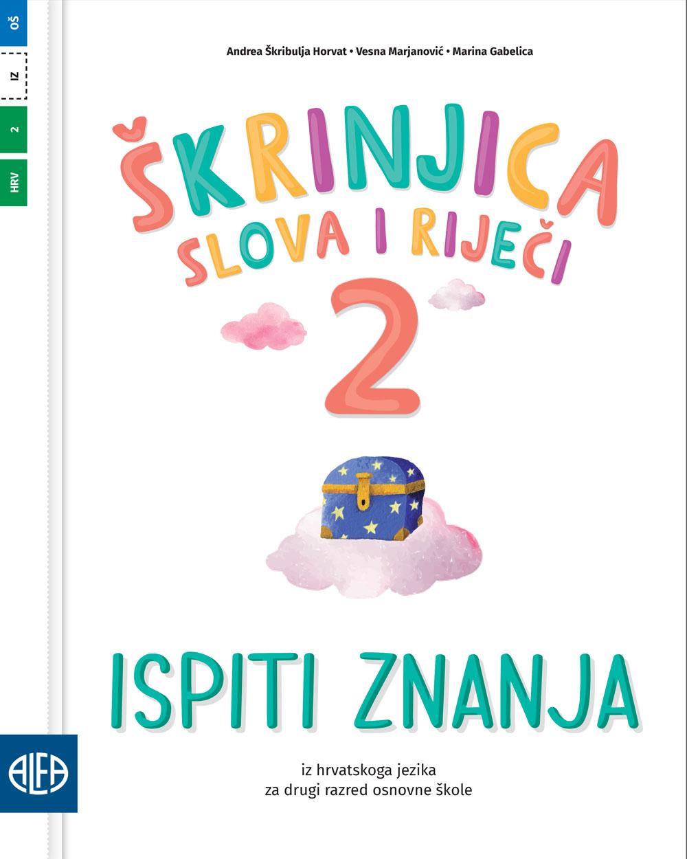 Ispiti znanja iz hrvatskoga jezika za drugi razred osnovne škole