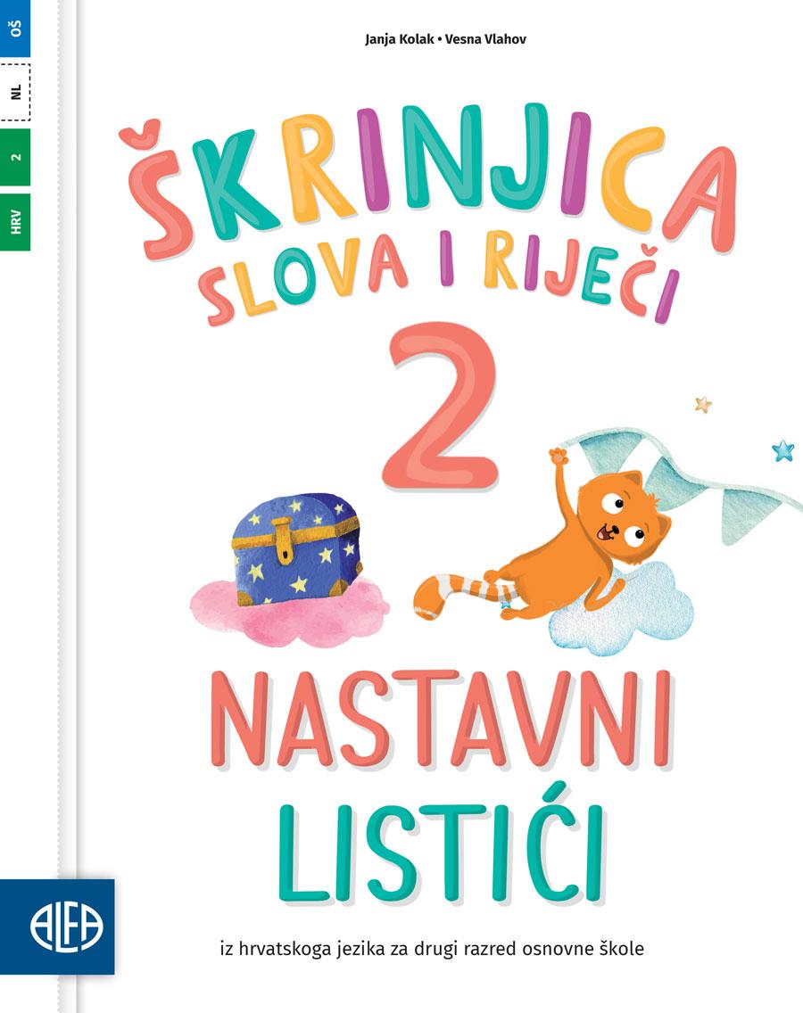 Nastavni listići iz hrvatskoga jezika za drugi razred osnovne škole