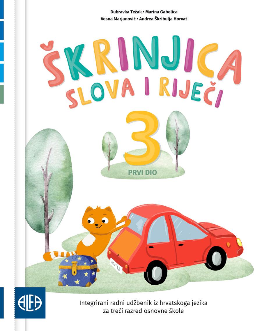 Integrirani radni udžbenik iz hrvatskoga jezika za treći razred osnovne škole