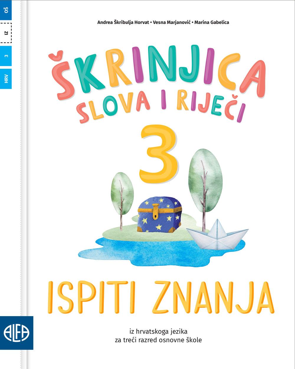 Ispiti znanja iz hrvatskoga jezika za trećii razred osnovne škole
