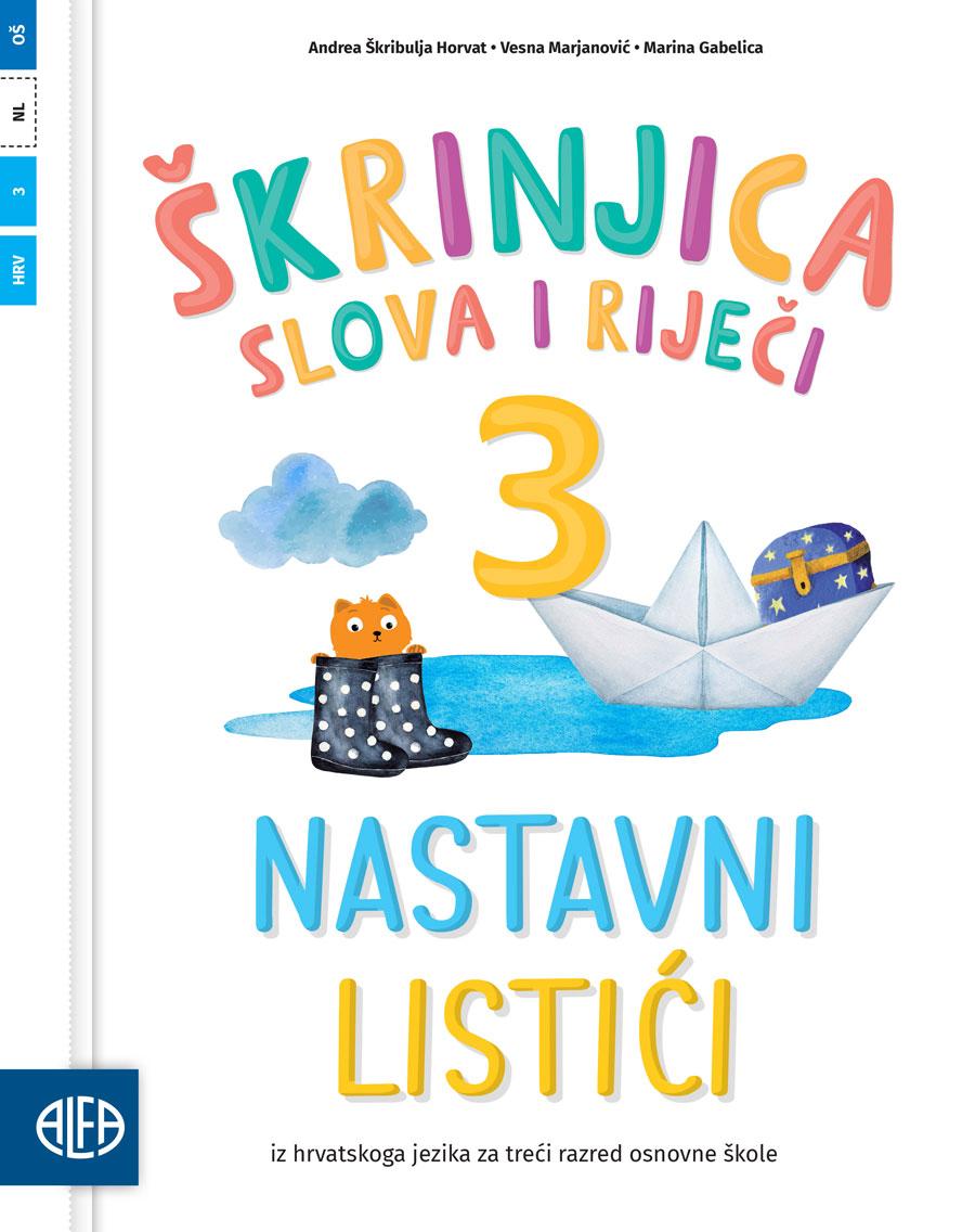 Nastavni listići iz hrvatskoga jezika za treći razred osnovne škole
