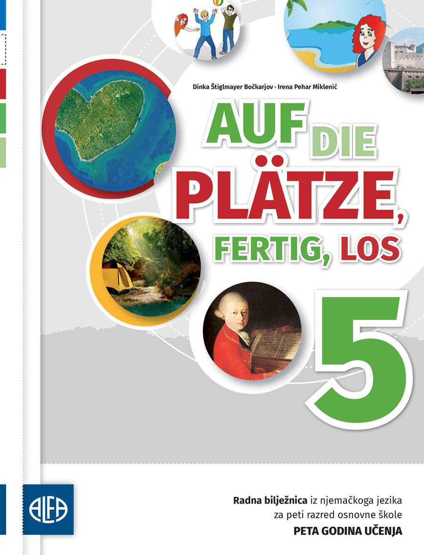 Radna bilježnica iz njemačkog jezika za peti razred osnovne škole