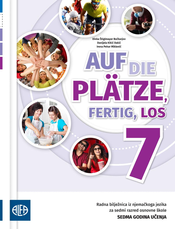 Radna bilježnica iz njemačkog jezika za sedmi razred osnovne škole