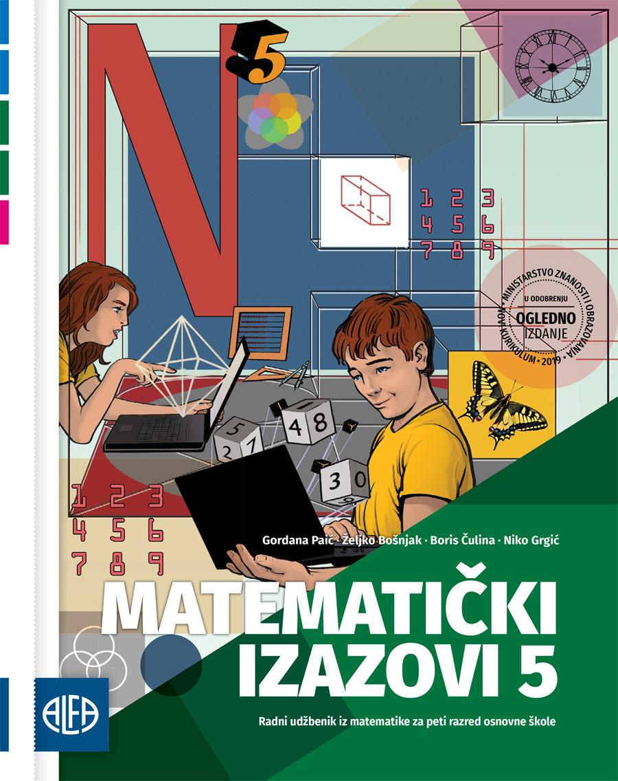 Radni udžbenik sa zadatcima za vježbanje iz matematike za peti razred osnovne škole