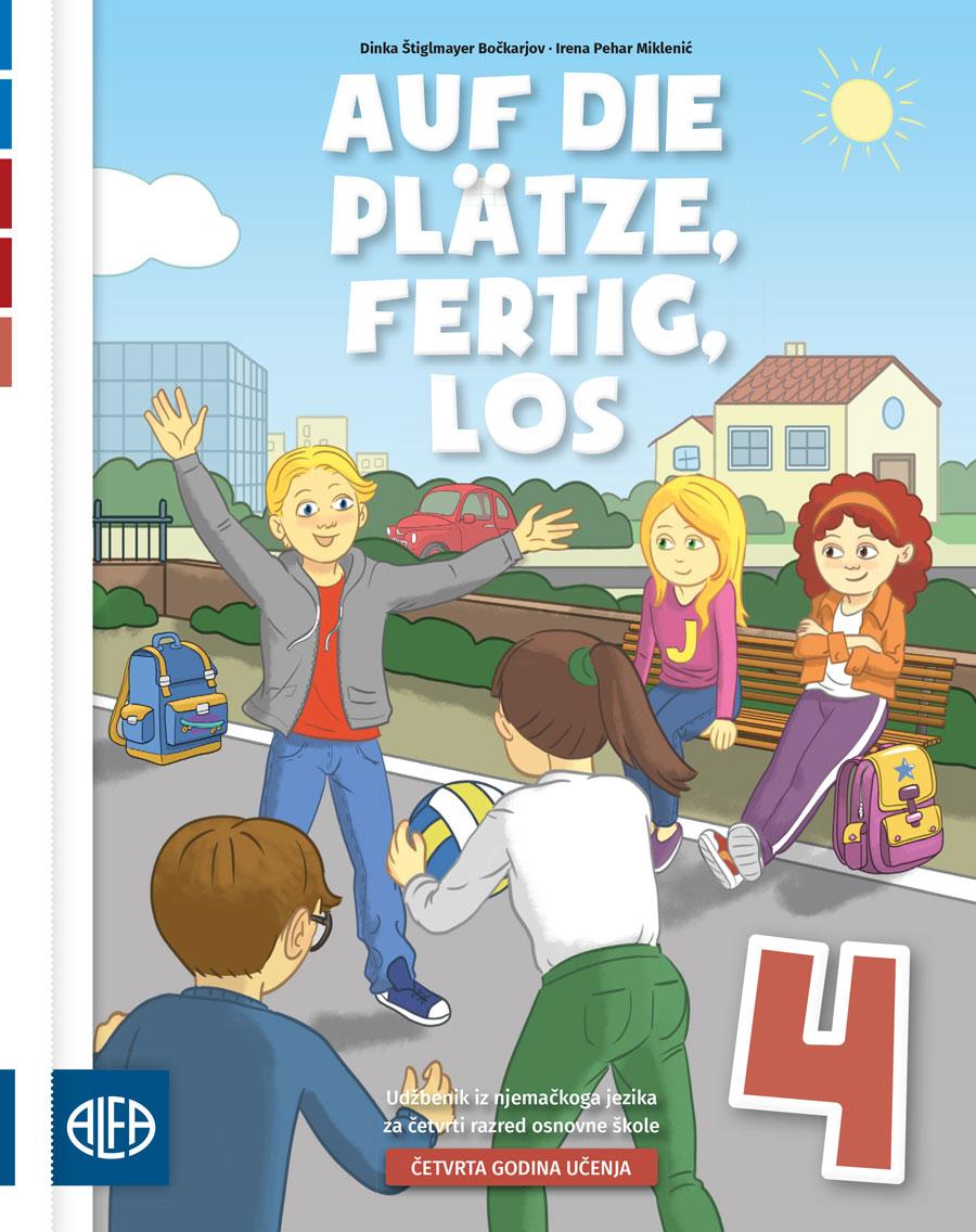 Udžbenik iz njemačkoga jezika za četvrti razred osnovne škole