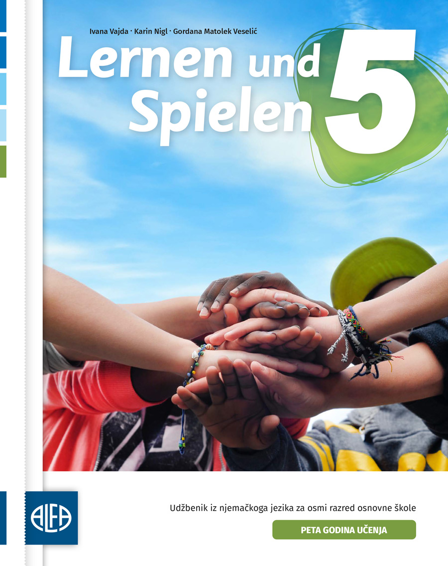 Udžbenik iz njemačkoga jezika za osmi razred osnovne škole